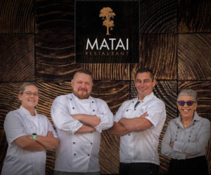 Ryan Gregorash and Team - Matai Restaurant - Regal Palms Resort Rotorua