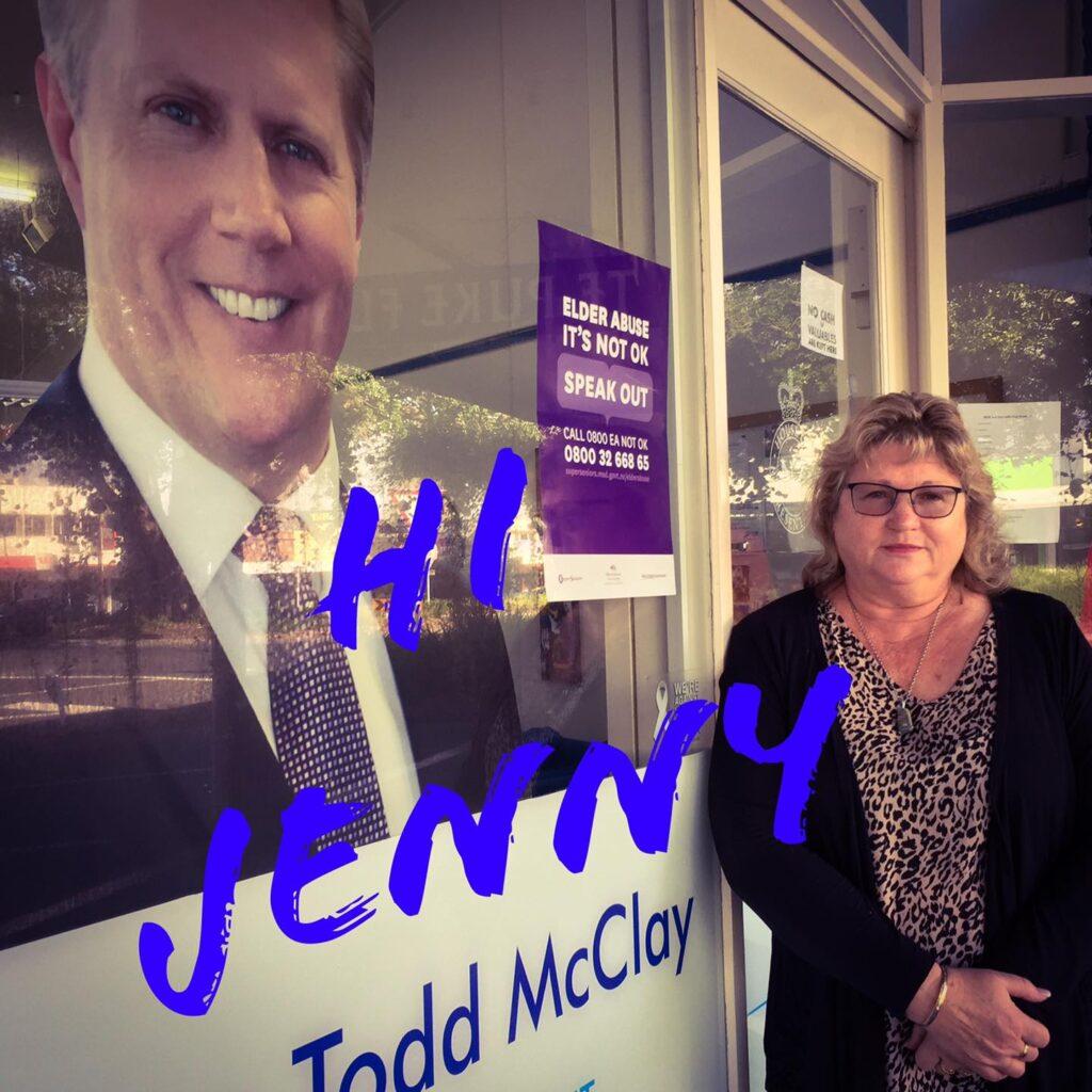 Say hi to Jenny!