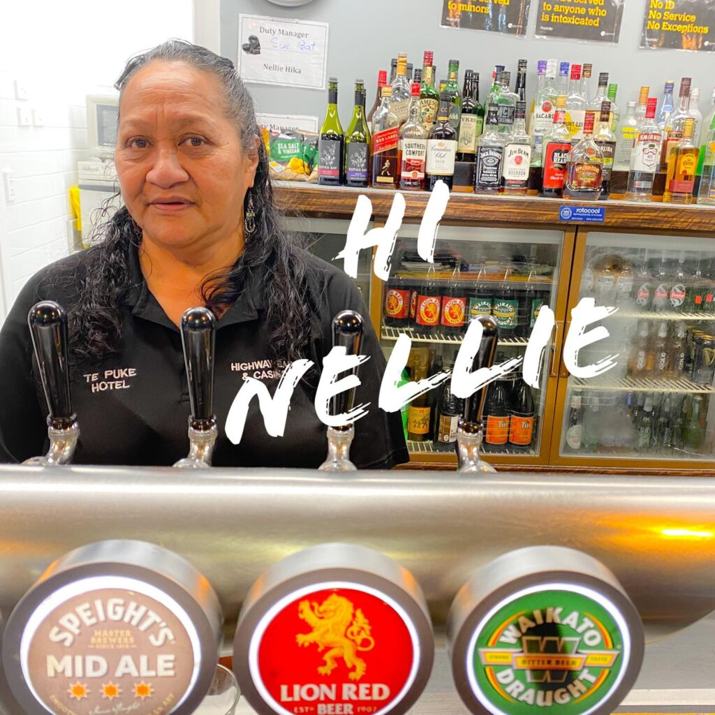 Say hi to Nellie from the Te Puke Hotel